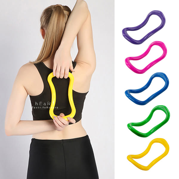 多功能拉提瑜珈健身圈 瑜珈道具 健身器材 瑜珈圈 拉提圈