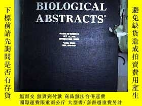 二手書博民逛書店BIOLOGICAL罕見ABSTRACTS VOLUNE 109 NUMBER 13 2002 生物文摘第109卷
