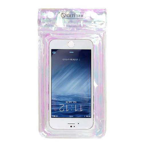 【Glitter】鐳射光彩-漂浮夾鏈式手機防水袋