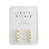 [現貨] itam 日本製 珍珠粒陶瓷耳針 (CP284)