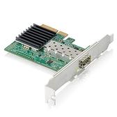 【客訂商品請先確認規格】 Zyxel 合勤 XGN100F 10Gb SFP+光纖 單埠 高速 有線網路卡 PCI-E 3.0 QoS 擴充卡