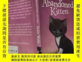 二手書博民逛書店misty罕見the abandoned kitten 米斯蒂被遺棄的小貓Y200392