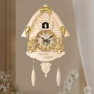 布穀鳥掛鐘客廳報時咕咕鐘鬧鐘兒童房裝飾時鐘個性創意靜音石英鐘 全館免運