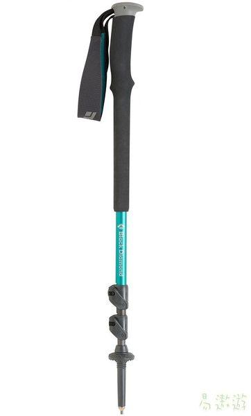 Black Diamond 美國 TRAIL 登山杖 女 59-125cm 112155 健行杖 快扣式 鋁合金 [易遨遊]