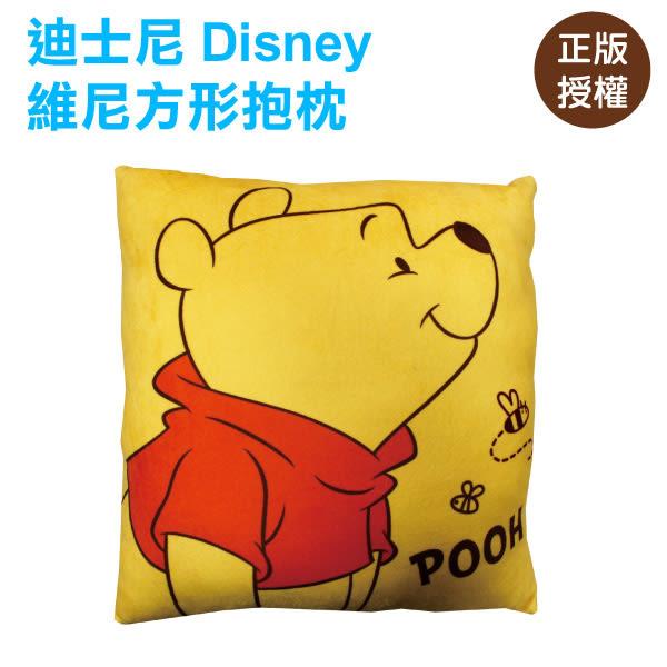 迪士尼正版 小熊維尼方型抱枕/靠枕/沙發枕/腰枕/維尼熊/午睡枕/LAIBAO蕾寶生活廣場