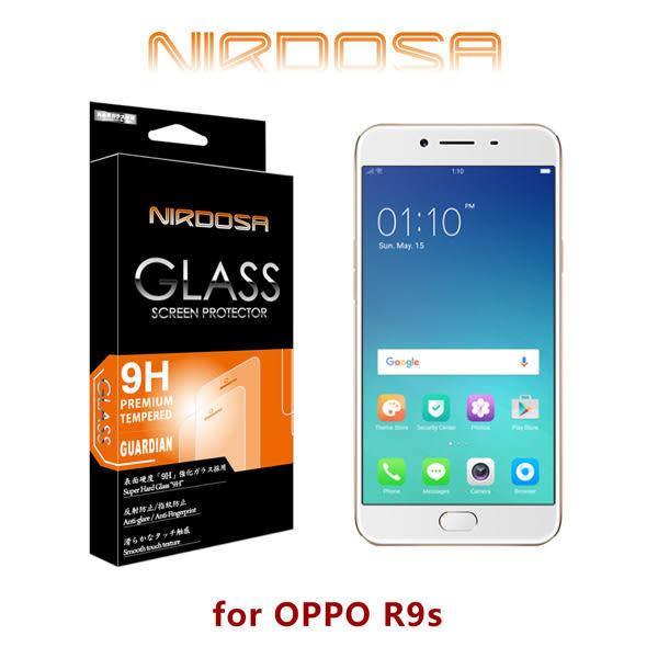 快速出貨 NIRDOSA OPPO R9s 9H 0.26mm 鋼化玻璃 螢幕保護貼