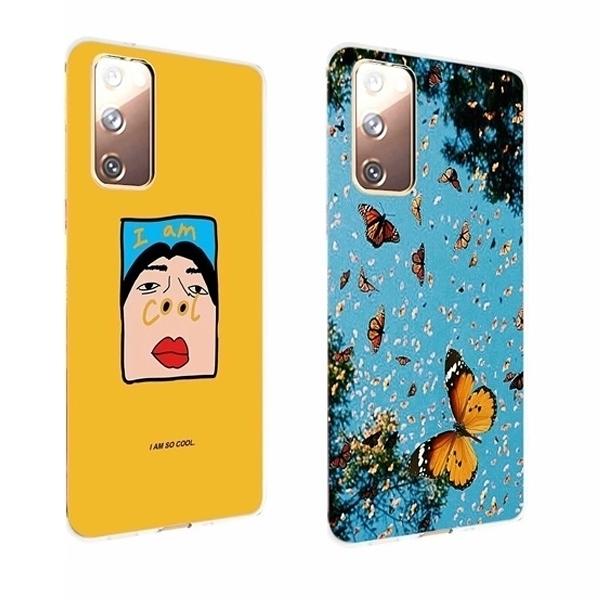 三星 Note20 Ultra Note10 Lite Note10+ ZB彩繪殼 手機殼 全包邊 軟殼 保護殼