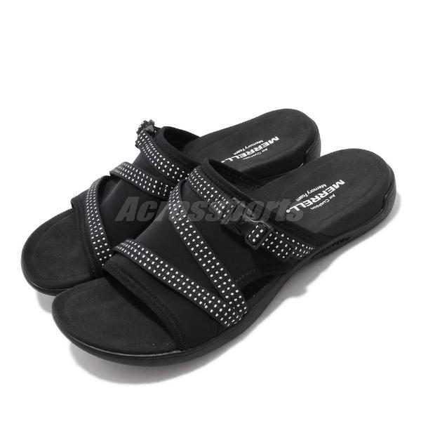 Merrell 拖鞋 District Muri Slide 黑 戶外 耐磨 女鞋 【ACS】 ML90548