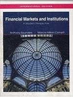 二手書 Financial Markets & Institutions (Study Guide) (2nd, 04) by Saunders, Anthony - Cornett, Marcia R2Y 0071234306