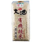 池上大地有機糙米1.5kg【愛買】