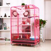 貓籠 方管貓籠大型貓 貓籠子別墅三層大二層雙層 寵物籠繁殖貓咪籠