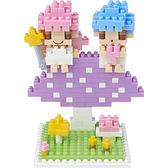 【Tico微型積木】雙子星-蘑菇篇 T-4107
