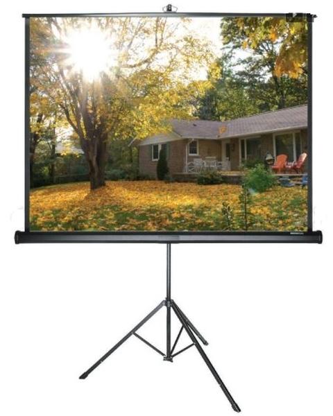 《名展音響》加拿大 GRANDVIEW Charming系列 PT-H70x70 87.5吋 Tripod 三腳支架布幕