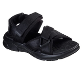 Skechers Equalizer 4 Sandal [237050BBK] 男鞋 運動 休閒 涼鞋 夏天 穿搭 黑