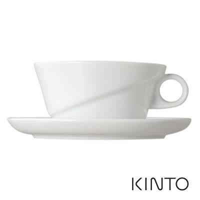 KINTO Ridge 杯盤組220ml 咖啡杯盤組 下午茶 聚餐 品茗杯具 瓷 日系簡約風 好生活