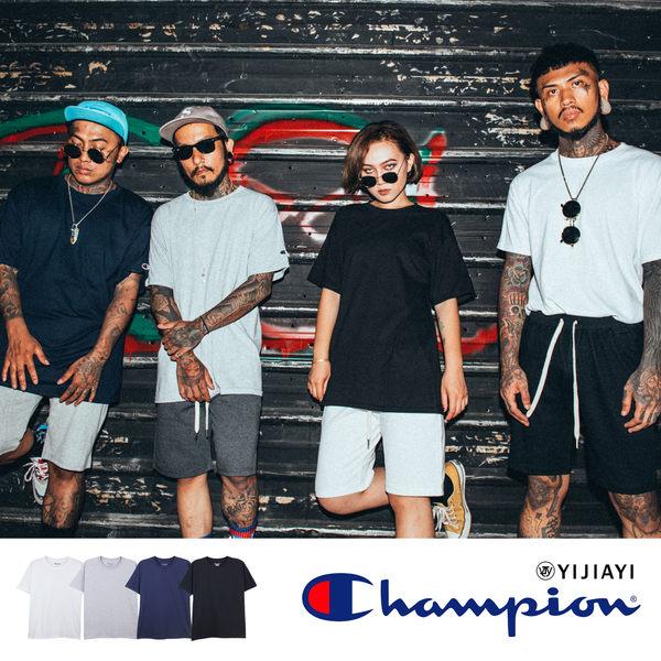 【YIJIAYI】✔(現貨) Champion 台灣正版公司貨 純棉 素面 短袖 T恤 短T【G廠】(T425)