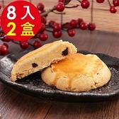 【南紡購物中心】預購 美雅宜蘭餅 手作葡萄奶酥8入x2盒