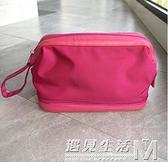 男士出差便攜旅游洗漱包盒干濕分離旅行化妝用品收納袋洗刷套裝女 遇見生活
