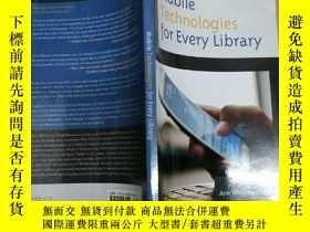 二手書博民逛書店Mobile罕見Technologies for Every L