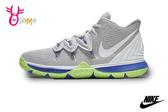 NIKE KYRIE 5 EP (GS) 成人女款 運動鞋 籃球鞋 P7077#灰綠◆OSOME奧森鞋業