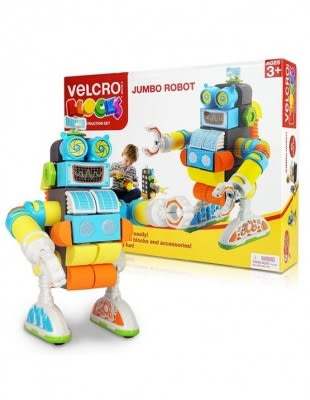 VELCRO 威扣智慧積木 -波波機器人(STEM認證) 專為寶寶設計的積木玩具 無毒Eva泡棉積木