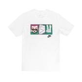 Nike 短袖T恤 NSW Tee 白 彩色 男款 短T Air Force 1 漫畫 運動休閒 【ACS】 CT6528-100