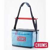 CHUMS 日本 CHUMS 保冷袋 30L 藍白條紋 CH602357W042