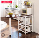 創意廚房置物架微波爐架子多層架多功能廚房收納架落地架 A款