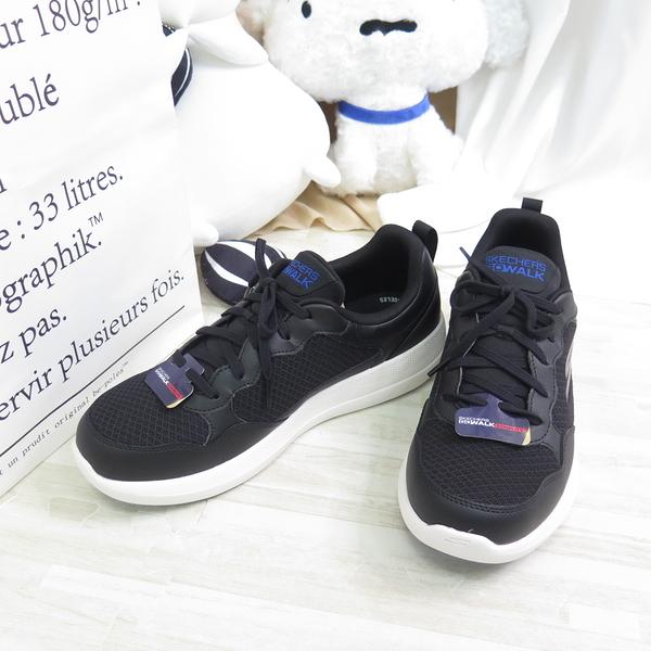 Skechers GO WALK STABILITY 男款 止滑 穩定 慢跑鞋 216143BKBL 黑【iSport】
