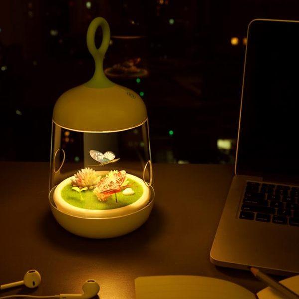 小夜燈創意led觸摸燈臥室床頭燈usb充電TW【99狂歡8折購物節】