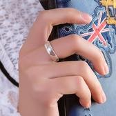 順欽銀樓足銀戒指 s999純銀飾品光面情侶戒指手工戒指情人節禮物 lh796【123休閒館】