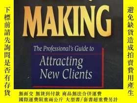 二手書博民逛書店Rain罕見Making The Professional s Guide to Attracting New C