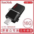 SANDISK 16G ULTRA SDDD2 MICRO OTG 130MB USB3.0 雙用隨身碟 手機隨身碟