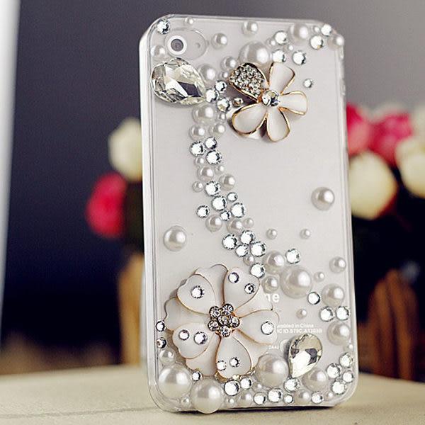 蘋果 iPhone XS MAX XR iPhoneX i8 Plus i7 Plus I6Splus 浪漫花朵 水鑽殼 保護殼 手機殼 貼鑽殼 水鑽手機殼