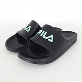 Fila Sleek Slide [4-S355V-003] 拖鞋 男女 運動 休閒 舒適 輕量 防水 黑