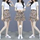 碎花半身裙兩件套新款女高腰顯瘦百搭ins超火的a字短裙NA32-A 依品國際