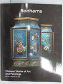 【書寶二手書T6/收藏_PME】Bonhams_Chinese Works of Art…2018/9/10