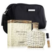 John Varvatos Artisan Pure 工匠純淨男性淡香水(125ml)+紳士盥洗包-贈針管