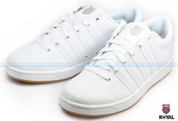 K-SWISS 新竹皇家 COURT PRO II CMF 白色 皮質 休閒鞋 男款 NO.A7601