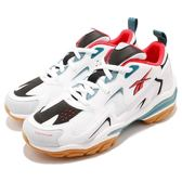 Reebok 復古慢跑鞋 DMX Series 1600 白 綠 膠底設計 老爹鞋 運動鞋 男鞋 女鞋【PUMP306】 CN7738