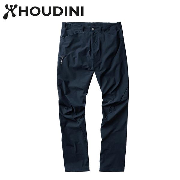 瑞典【Houdini】M`s Daybreak Pants 男款薄軟殼彈性長褲 248484 藍色幻想