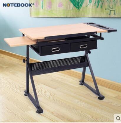 可升降調節畫桌兒童學習桌小孩寫字桌小學生課桌寫字台小桌子書桌