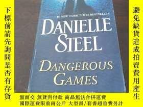 二手書博民逛書店Dangerous罕見Games: A Novel(英文原版)Y