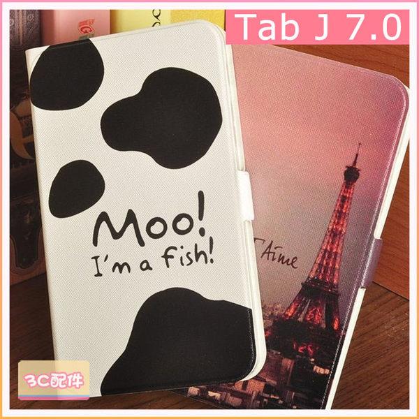 三星 Tab J 7.0 T280 T285 平板皮套 彩繪 卡通 保護套 支架 智慧休眠 皮套 平板保護殼 防摔 矽膠套