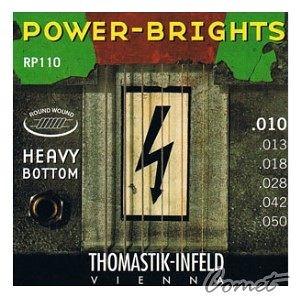 【小新的樂器館】Thomastik Infeld奧地利手工電吉他弦  (Power-Bright Heavy系列: RP110 (10-50)電吉他弦