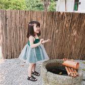 女童吊帶裙連衣裙蓬蓬紗公主裙2019夏裝新款寶寶小童兒童洋氣裙子