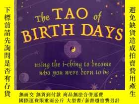 二手書博民逛書店16開英文原版罕見The Tao of BIRTH DAYS :