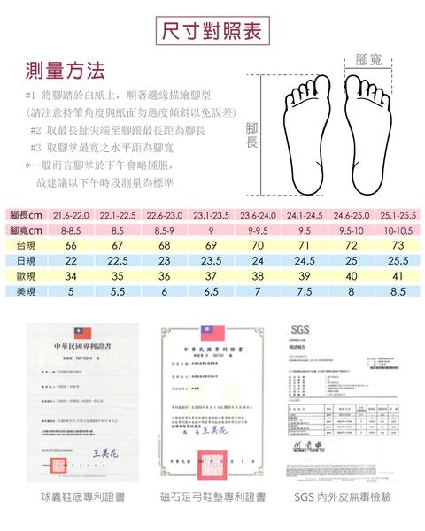 女鞋 休閒鞋 懶人鞋 樂福鞋 MIT台灣製 真皮鞋 經典款磁力厚底氣墊球囊鞋(簡約白) Normady 諾曼地