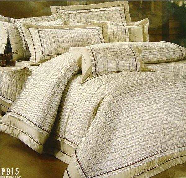 【貝淇小舖】US. POLO品牌【簡約生活】精梳棉雙人床包兩用被四件組~