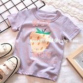 女童純棉短袖T恤草莓寶寶兒童圓領打底衫上衣【桃可可服飾】